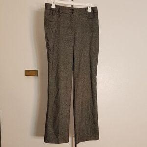 Talbots Tweed Wool Blend Work Trousers Size 6